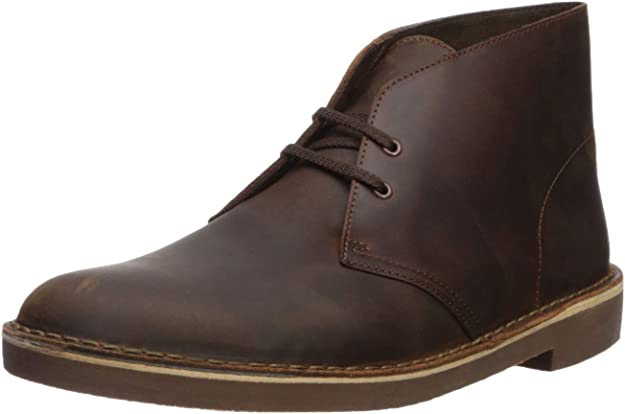 Clarks Men's Bushacre 2 Chukka Boot,Dark Brown,7 M US