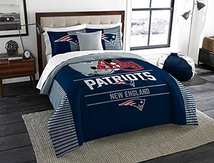 Charmant New England Patriots Comforter Set Bedding Shams NFL 3 Piece King Size 1  Comforter 2 Shams