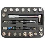 king feng company, ltd CTKIT Diamond Single Line Cable Tester with Various Adapters