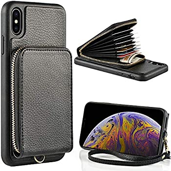 Amazon.com: ProCase Leather Wallet Case for iPhone Xs Max