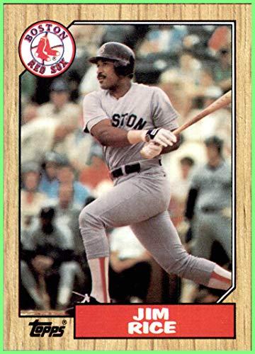 JIM RICE HOF BOSTON RED SOX 1987 TOPPS #480