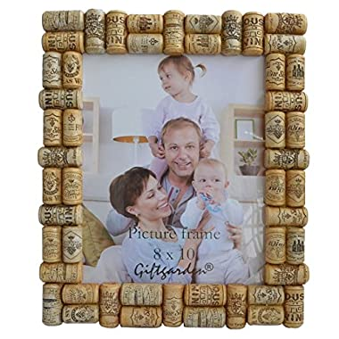 Giftgarden® Unique Picture Frame 8 by 10 -Inch Wine Cork