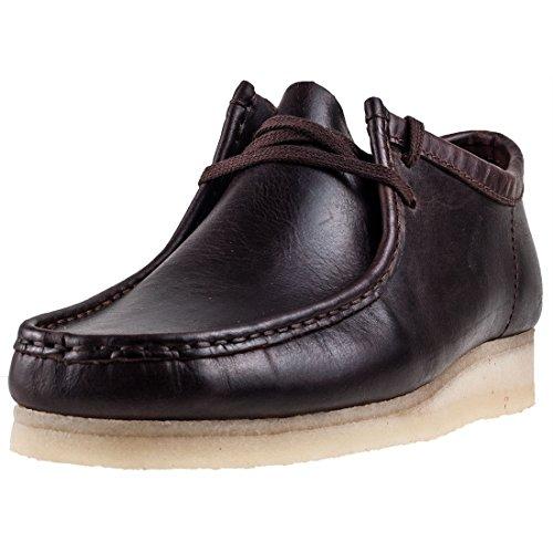 CLARKS Originals Wallabee Mens Shoes Chestnut - 10 UK