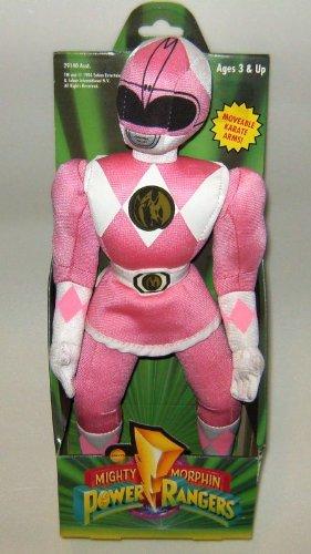 Power Rangers 12  Plush Pink Ranger Figure