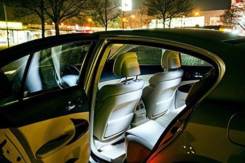 F/ür BMW5erTouringE39 Hallenwerk Eine sehr exklusive KALT WEISSE Optik WEISSE INNENRAUMBELEUCHTUNG Set Umr/üstsatz Innenraum Beleuchtung von