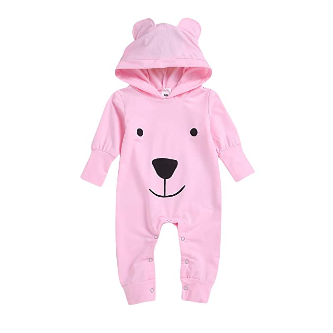 4bcd8d46e9e6 Amazon.com  Ma love Newborn Toddler Baby Boy Girl Hooded Dinosaur ...