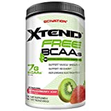 Best Bcaa Powders - Scivation Xtend FREE BCAAs, Strawberry Kiwi 30 Serving Review