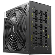 KKmoon Segotep GP1350G Computer Mining Power Supply Full Modular ATX PC Gaming PSU 12V For AMD Crossfire 80Plus Gold Active PFC 1250W