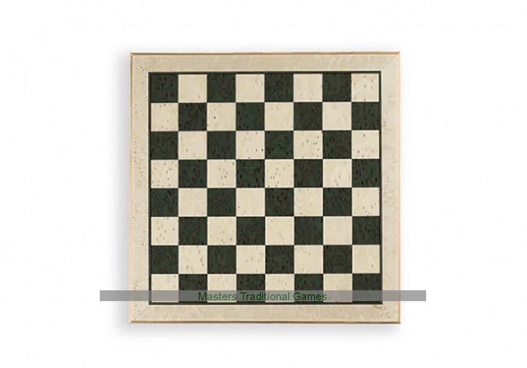 barato y de moda Dal Negro Tablero Tablero Tablero de ajedrez de Erable (44cm Borde) verde  ¡envío gratis!