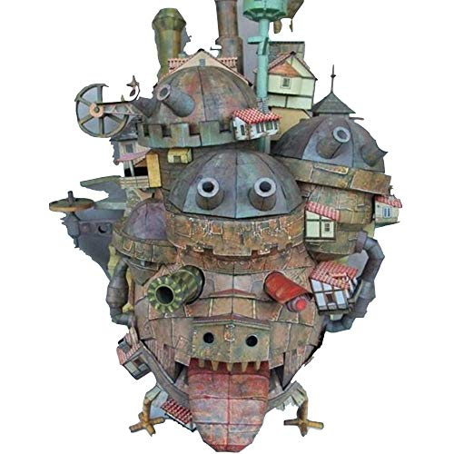 Arrival 3D New 2019 Puzzle Hayao Miyazaki's Howl's Moving Castle Terrestrial Version of 3D Paper Model DIY