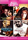 Four True Drama Movies: Sex, Lies & Obsession, The Unspoken Truth, Darkness Before Dawn, Prophet of Evil: The Ervil LeBaron Story (4 Disc Set)