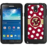 Coveroo Commuter Series Cell Phone Case for Samsung Galaxy Note 3 - Retail Packaging - Boston College Dots