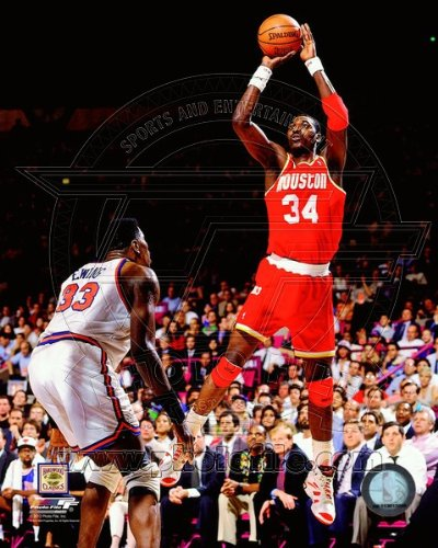 Hakeem Olajuwon Houston Rockets 1994 NBA Finals Game 4 Action Photo 8x10