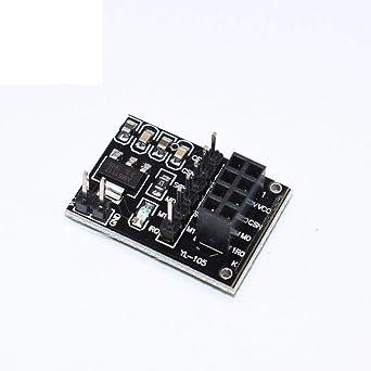 10PCS Socket Adapter plate Board for 8Pin NRF24L01 Wireless Transceive module