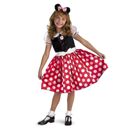 Disney Minnie Mouse Classic - Size: 3T - 4T (Girls Mini Mouse Costume)