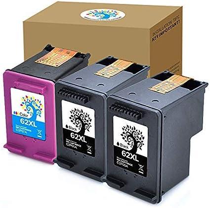 Amazon.com: H & Bo Remanufactured 62 x l Cartucho de tinta ...
