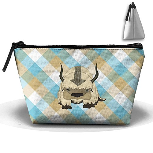 Avatar The Last Airbender Appa Cute Travel Makeup Bag Cosmetic Bags Toiletry Bag Clutch Pouch Multi-Purpose Organizer Bag 8.6 X 2.7 X 4.7""
