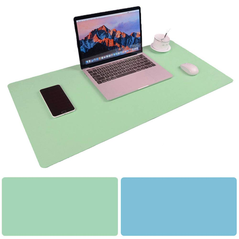 Peachy Large Desk Pad Mouse Pad Aisakoc 35 4X15 75 Non Slip Pu Leather Desk Mouse Pad Waterproof Dual Side Use Desk Gaming Writing Mat For Office Home Home Remodeling Inspirations Gresiscottssportslandcom