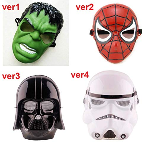 Halloween Star Wars Darth Vader Mask Super Hero Hulk/American Captain/Iron Man/Spiderman/Batman Crazy Party Masks Children -