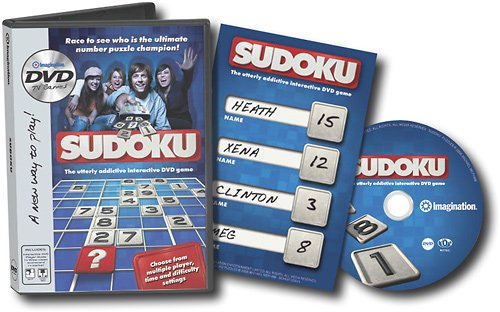 Imagination Entertainment Sudoku DVD Game ()