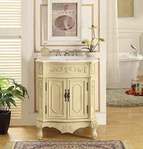27 Traditional Spencer Sink Vanity Cabinet Model HF-3305W-LT-27