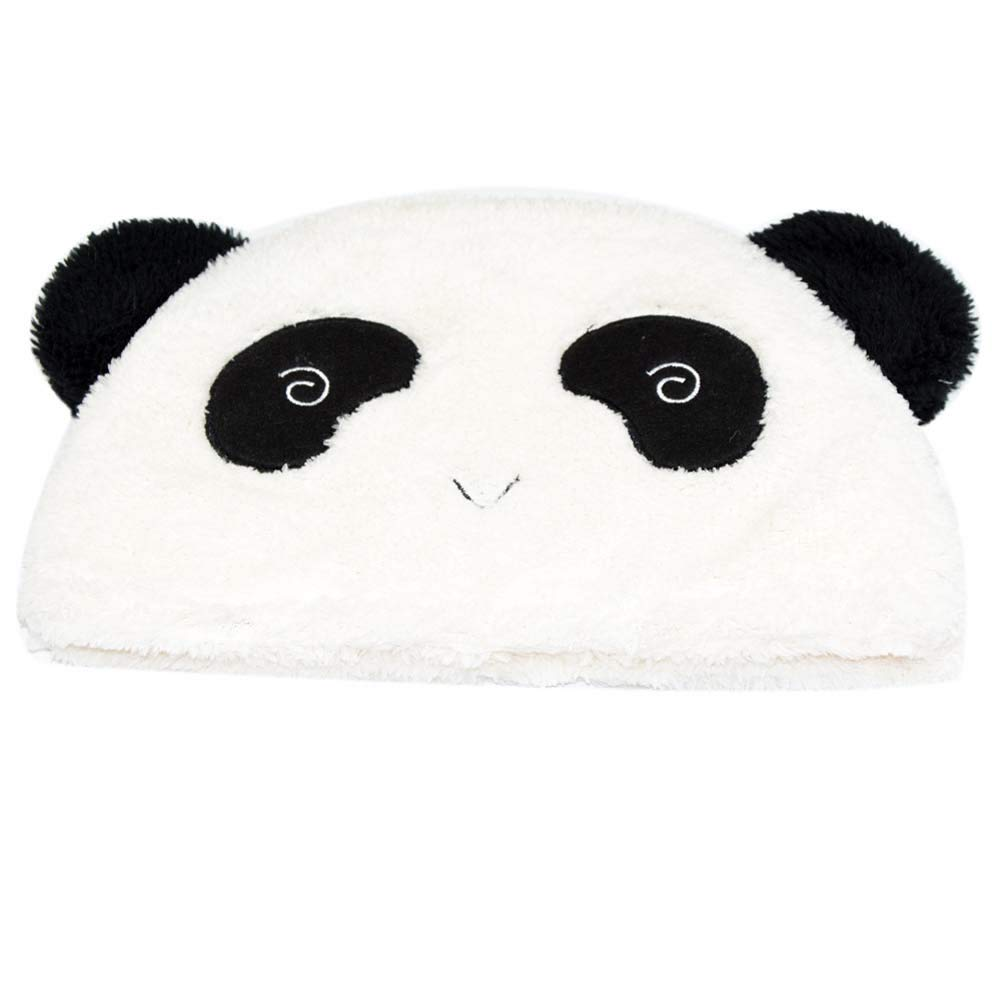 e073ab9aeb8 Amazon.com  ANJUY Unisex Plush Panda Bear Hat Animal Costume Beanie Winter  Fitted Warm Soft  Home   Kitchen