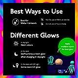 Neon Nights Glow in the Dark Paint - 8 Pack 0.7 fl