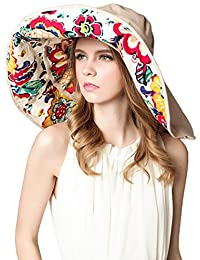 Urban CoCo Detachable Roll Summer Beach Sun Visor Wide Brim Hat Cap