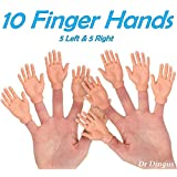 DR DINGUS Finger Hands - Set of 10