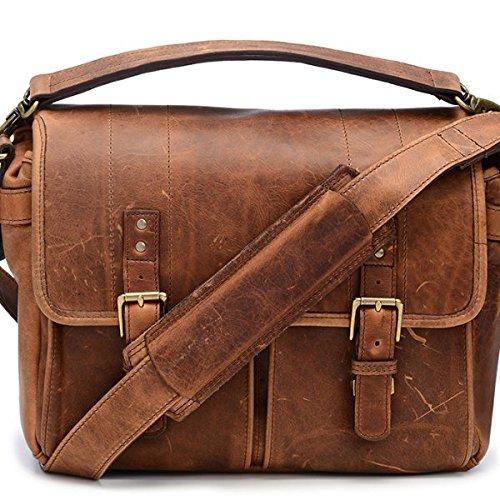 Prince Street Camera Messenger Bag (Antique Cognac) B00Y3FGA4I