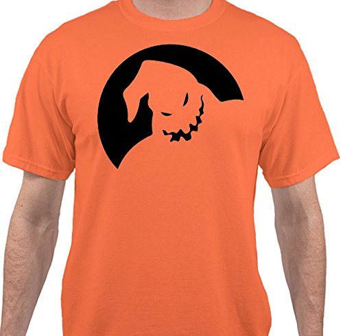 [Sweet Tees™ Oogie Boogie Nightmare Before Christmas Halloween Costume T-Shirt - Orange - 4XLarge] (Boogie Man Nightmare Before Christmas Costumes)