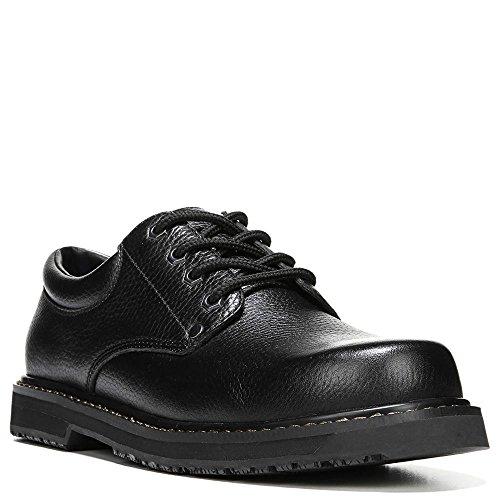 Dr. Scholl's Men's Harrington II Work Shoe, Black, 9.5 W US