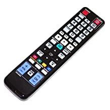 Universal Replacement Remote Control for AK59-00123A Fit for Samsung BD-P1600A BD 3D Full HD Blu-Ray Disc DVD Player