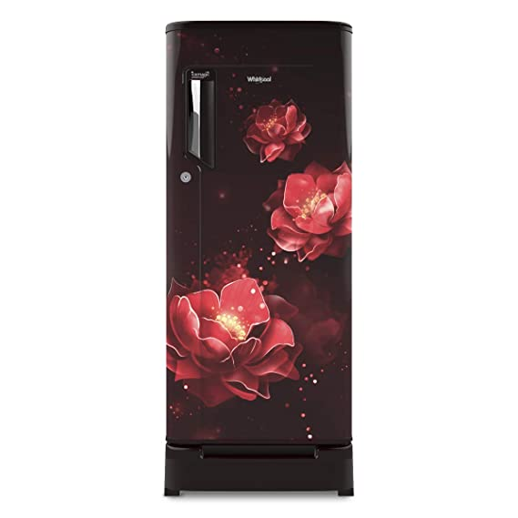 [Apply coupon] Whirlpool 190 L 4 Star Direct-Cool Single Door Refrigerator (205 ICEMAGIC ROY 4S, Wine Abyss)