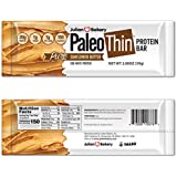 Paläo Thin Protein Bar (Organic Sunflower Butter) (150 Cal, 20g Egg White Protein 5 Net Carbs) (12 Bars)