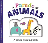 Picture Fit Board Books: A Parade of Animals: A Counting Book