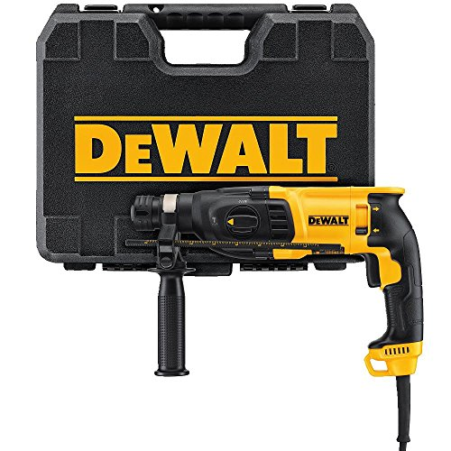 DEWALT D25133K SDS Pistol Grip Rotary Hammer, 1″
