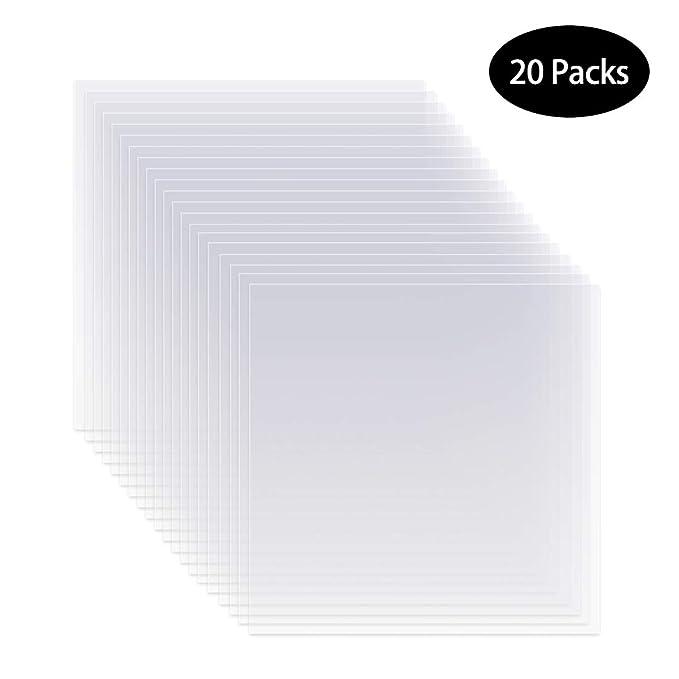 Amazon.com: 20 plantillas de 6 mil 12 x 12 pulgadas en ...
