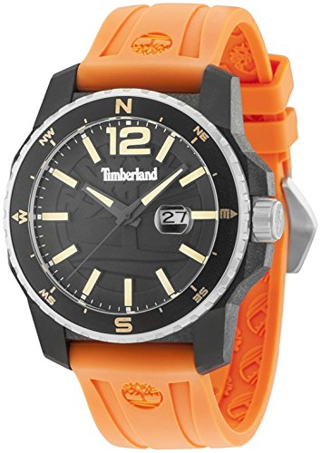 Timberland Westmore Mens Analog Quartz Watch with Silicone Bracelet 15042JPBS-02P