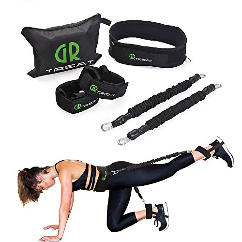 Compare Price: resistance band waist belt - on ...