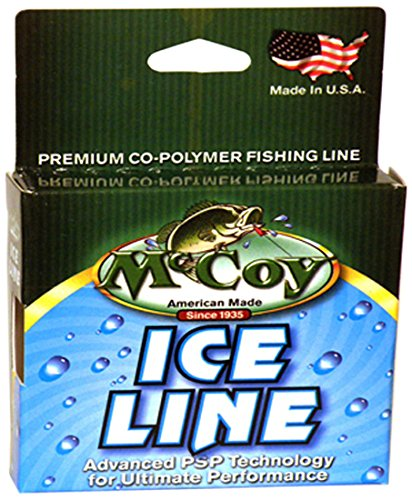 McCoy Fishing Ice Fishing Line, 125-Yard/1-Pound