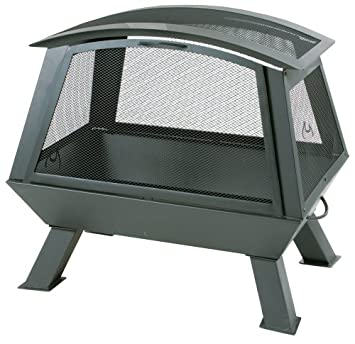 char broil 03505784 firenzy outdoor fireplace with screen amazon co rh amazon co uk Char-Broil Outdoor Gas Fireplace Char-Broil Fire Pit