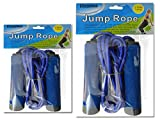 JUMP ROPE 2.66M LONG W/HANDLE PINK, GREEN, BLUE, YELLOW CLR , Case of 144