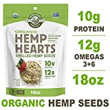 These versatile seeds will add nutrition and a rich nutty taste to any meal! Sprinkle hemp Hearts on salad, cereal, or yogurt, or blend them into smoothies. Shelling the hemp seed produces the most nutritious and tender part of the seed, The heart. H...