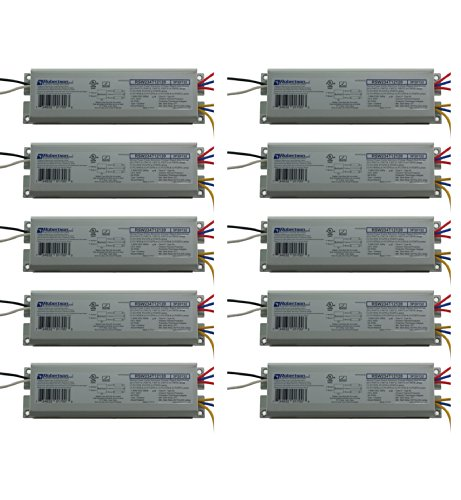 ROBERTSON 2P20132 Quik-Pak of 10 Fluorescent eBallasts for 2 F40T12 Linear Lamps, Preheat Rapid Start, 120Vac, 50-60Hz, Normal Ballast Factor, NPF, Model RSW234T12120 /A (Crosses to 2P20010 Model RSW240T12120 /B)