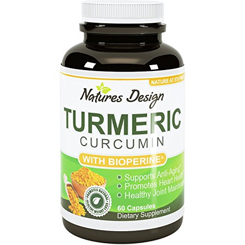513Z4otB2oL - Turmeric Curcumin with Bioperine Black Pepper Extract With 95% Curcuminoids Vitamin B6 Manganese & Iron -Powerful Pain Relief Increased Energy & Bone Health Support For Women & Men By Natures Design