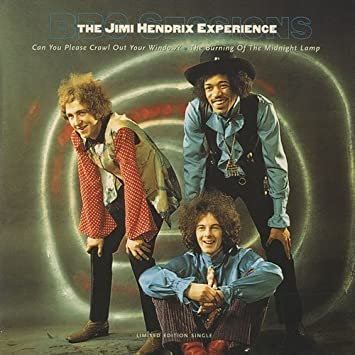 Jimi Henndrix Can You Please Crawl Out Your Window Vinyl 7