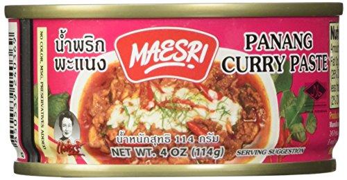 (Maesri Thai panang curry - 4 oz x 2 cans)
