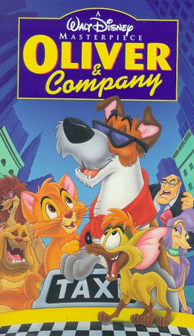 Oliver & Company [VHS] (The Boy And The Beast Collectors Edition)