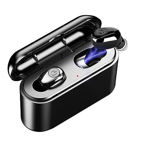 869b9acb5ae Amazon.com: True Wireless Earbuds Bluetooth 5.0 Earbuds TWS 5D Stereo Bluetooth  Earphones X8 Mini Waterproof Headfrees with Charging Box 2200mAh Power  Bank: ...